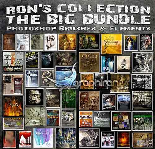 پک کامل براش های Ron's Collection