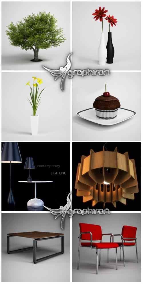 ● 5 مجموعه دمو مدل های 3 بعدی آماده شرکت CGAXIS