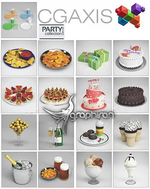 مجموعه مدل های لوازم مهمانی و جشن
