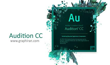 خرید پستی Adobe Audition CC