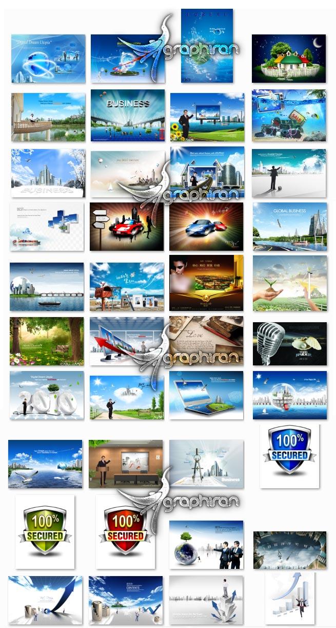 خرید پستی تصاویر PSD لایه باز