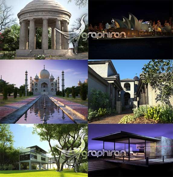 مدل های معماری خارجی ساختمان Archexteriors