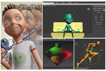 آموزشی حرفه ای انیمیشن سازی در تری دی مکس