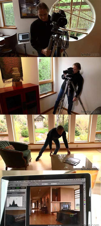 فیلم آموزشی عکاسی محیط داخلی ساختمان