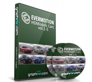 خرید مجموعه مدل های سه بعدی آماده ماشین HDModels Cars vol 1-5