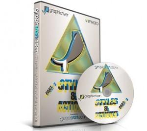 خرید مجموعه اکشن ها و استایل های فتوشاپ GraphicRiver – شماره ۳