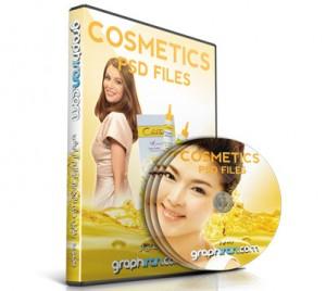 خرید پستی مجموعه طرح های آرایشی و بهداشتی PSD لایه باز