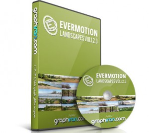 خرید تصاویر عریض مناظر طبیعی Evermotion Landscapes vol 1-2-3