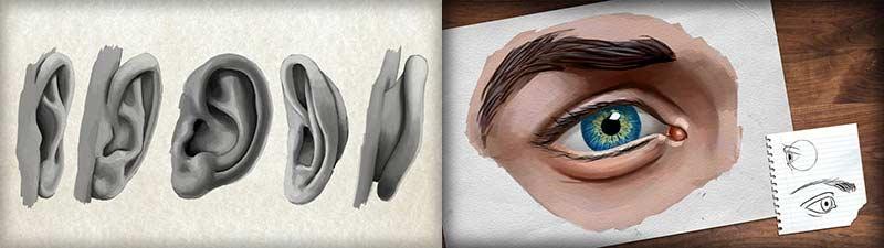نقاشی انسان با فتوشاپ