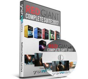 خرید پستی مجموعه کامل پلاگین های Red Giant Complete Suite 2017