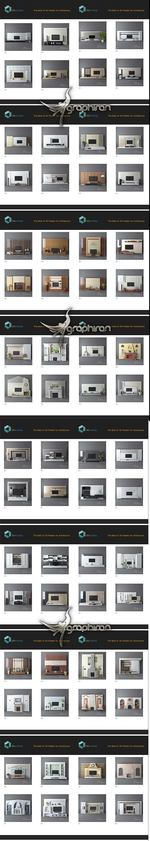 TV & Media Furniture 01-114