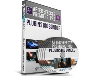 خرید پستی مجموعه عظیم پلاگین های After Effects و Premiere Pro