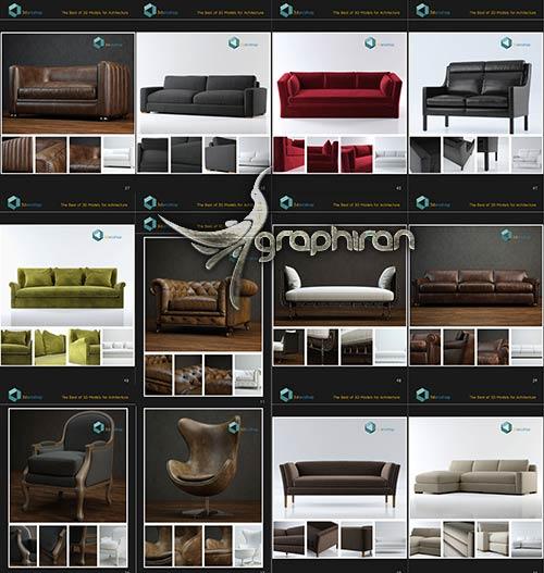 Boutique Sofa Chair Series Vol 01